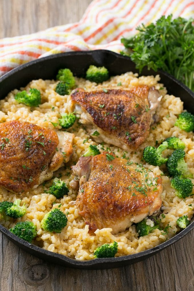 Chicken Broccoli And Rice Casserole Dinner At The Zoo