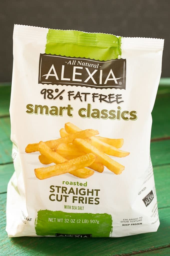 Alexia baked fries bag.