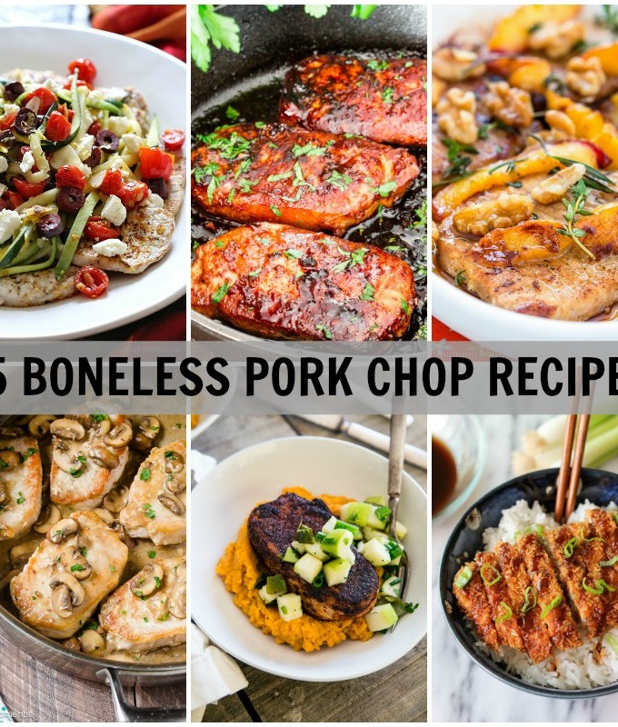 15 of the best boneless pork chop recipes. Boneless pork chops are such a versatile cut of meat and are the perfect quick cooking protein for busy weeknight meals.