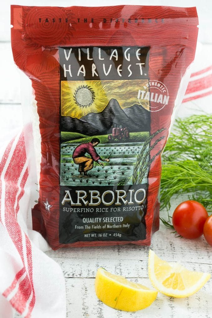 Village Harvest arborio rice.