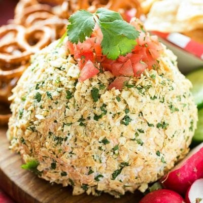 Jalapeno Cheddar Cheese Ball