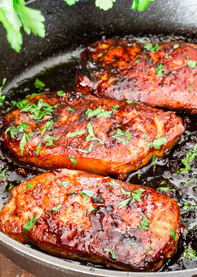 Healthy recipes for boneless pork chops