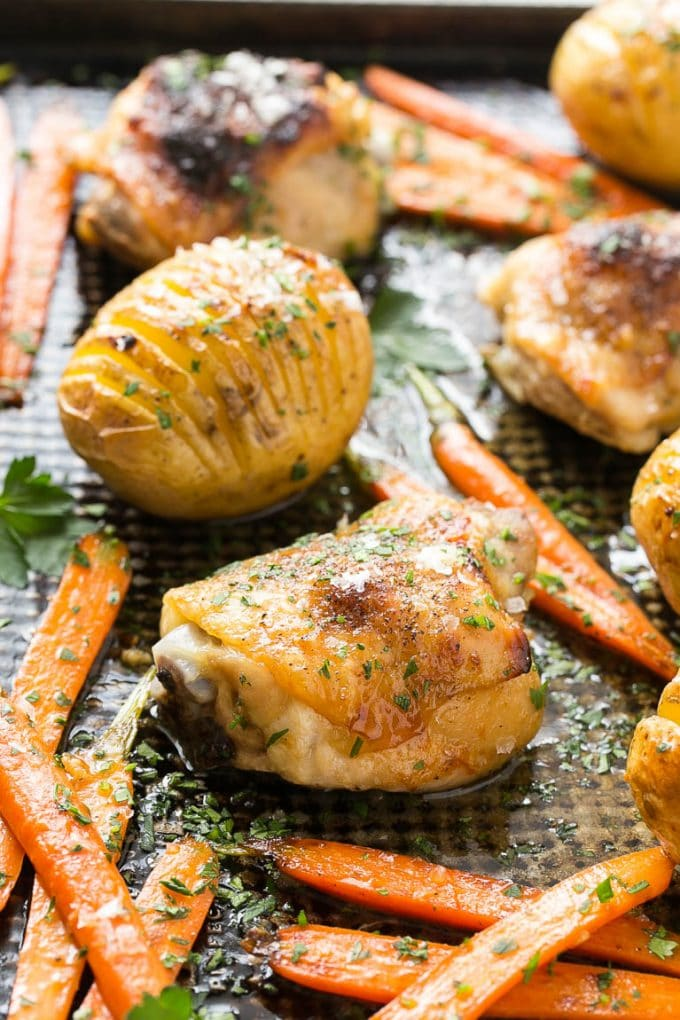 how to cook potatoes and carrots in the oven