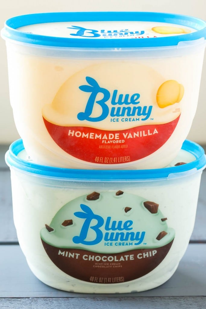 Blue Bunny Ice Cream #SoHoppinGood ad