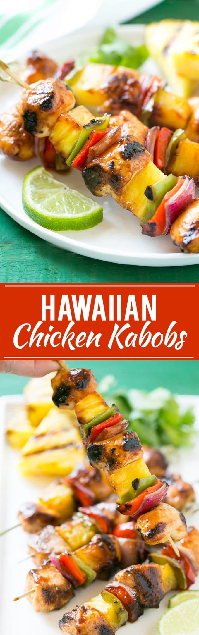 Hawaiian Chicken Kabobs Recipe | Hawaiian Chicken Kabobs | Chicken Pineapple Kabobs #pineapple #chicken #grilling #dinner #dinneratthezoo