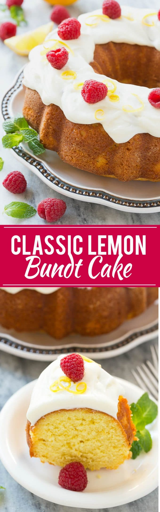 Classic Lemon Bundt Cake Recipe | Cream Cheese Frosting | Lemon Bundt Cake with Cream Cheese Frosting | Best Lemon Bundt Cake