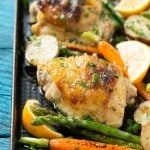 Lemon Thyme Chicken with Vegetables