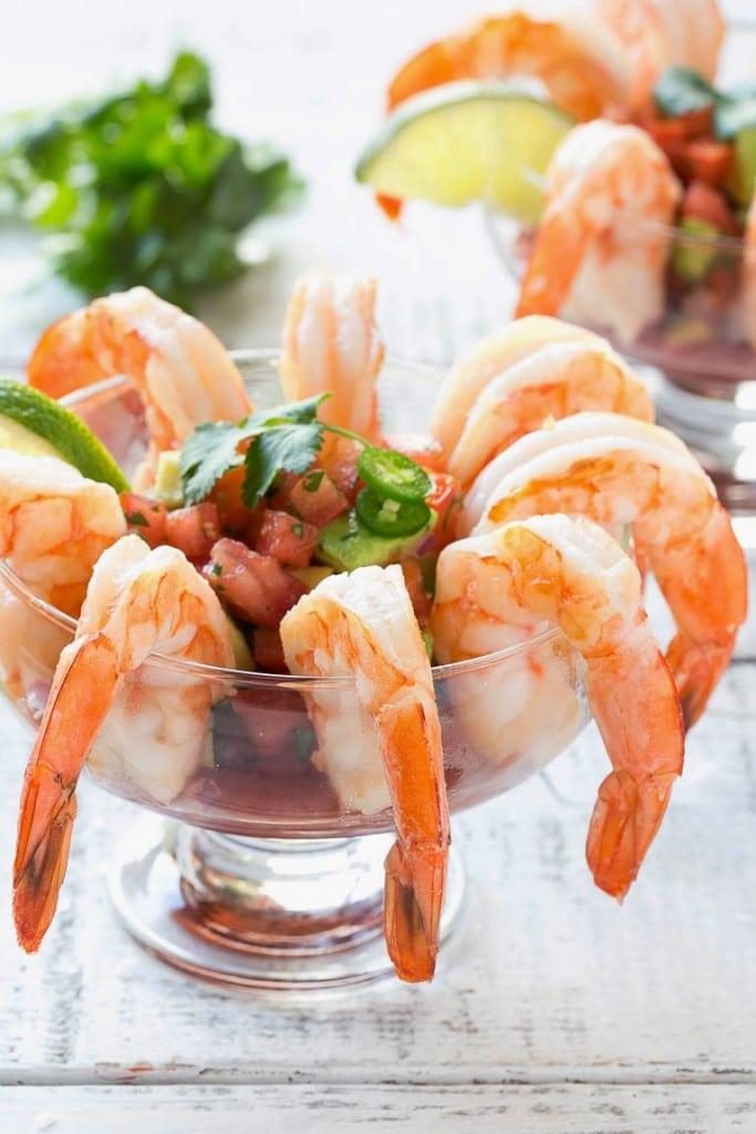Mexican Shrimp Cocktail (Coctel de Camarones) - Dinner at ...