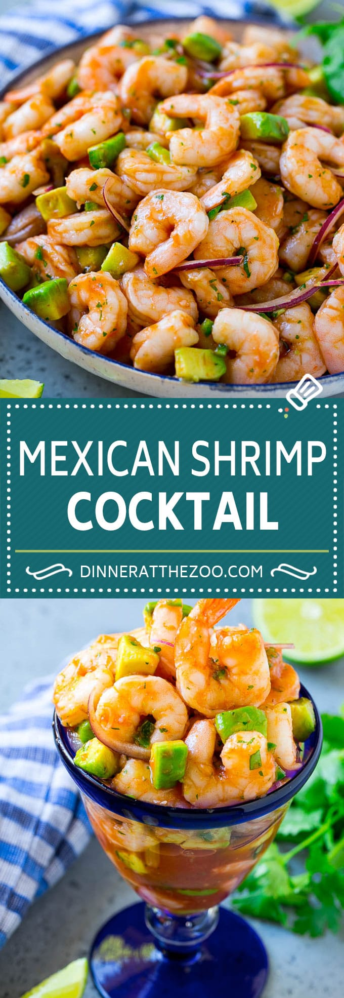 Mexican Shrimp Cocktail Recipe | Coctel de Camarones | Shrimp Cocktail | Mexican Shrimp #shrimp #appetizer #avocado #mexican #dinneratthezoo