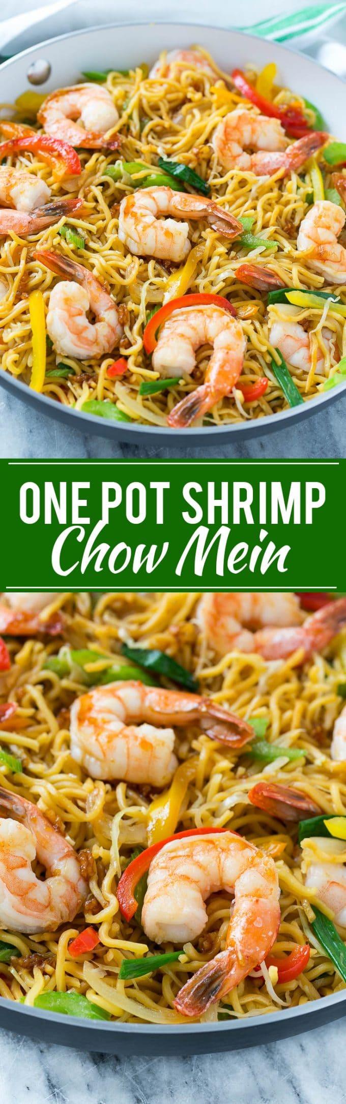 Shrimp Chow Mein Recipe | One Pot Meal Shrimp Chow Mein | Best Shrimp Chow Mein | Easy Shrimp Chow Mein | One Pot Meal Chow Mein