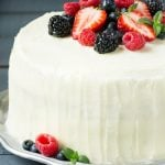 Berry Chantilly Cake