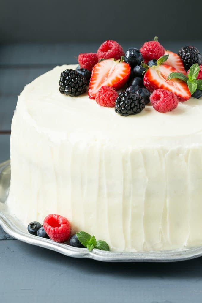Bakery Cake Recipe White