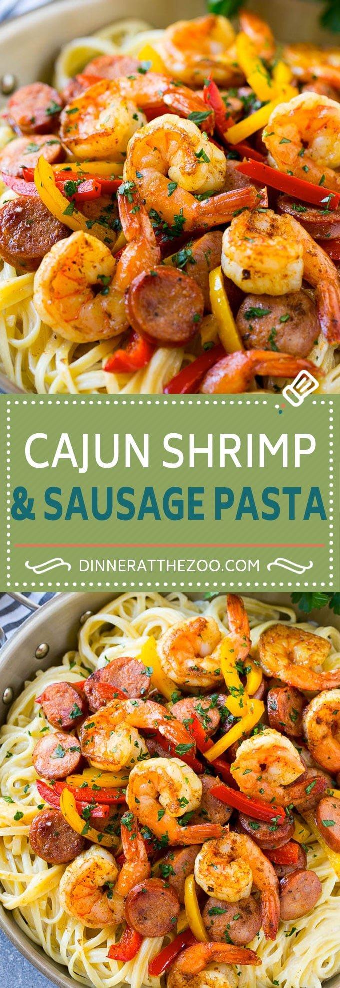 Cajun Shrimp and Sausage Pasta Recipe | Cajun Shrimp Pasta | Shrimp Pasta Recipe | Sausage Pasta Recipe #pasta #shrimp #sausage #cajun #shrimppasta #dinner #dinneratthezoo