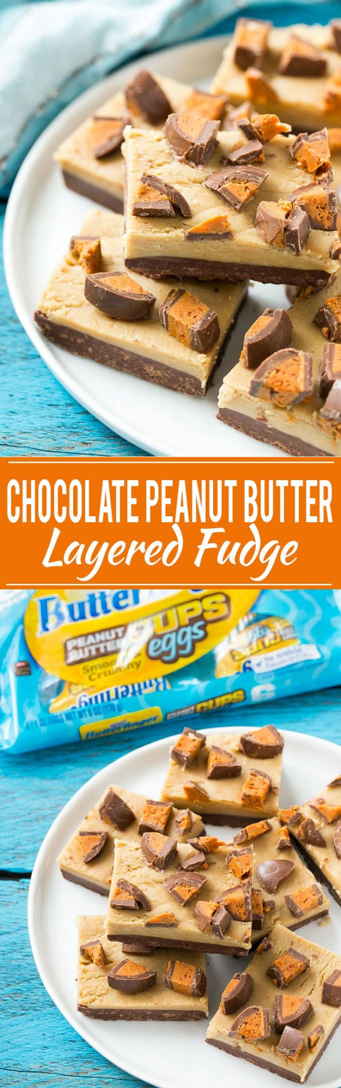Chocolate Peanut Butter Fudge Recipe | Chocolate Peanut Butter Fudge | Easy Chocolate Peanut Butter Fudge | Best Chocolate Peanut Butter Fudge