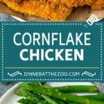 Cornflake Chicken Recipe | Chicken Fingers #chicken #dinner #dinneratthezoo