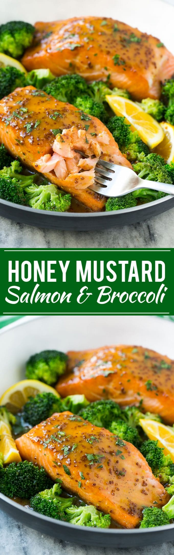 Honey Mustard Salmon Recipe | Salmon and Broccoli | Seared Salmon | One Pot Meal #onepotmeal #salmon #broccoli #dinner #dinneratthezoo