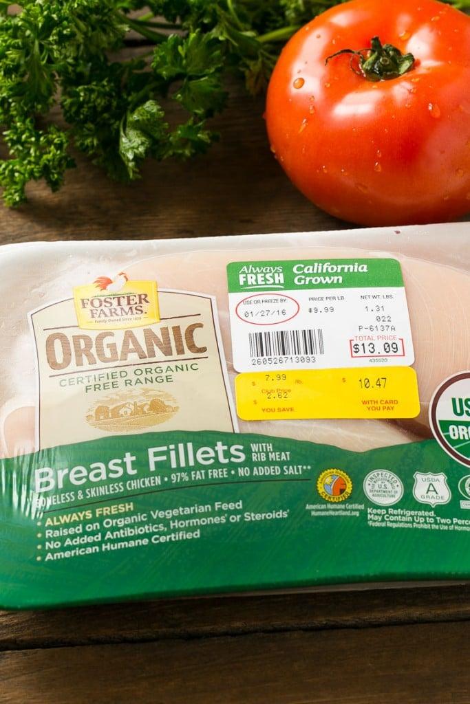 Foster Farms Organic Chicken FosterFarmsOrganic AD