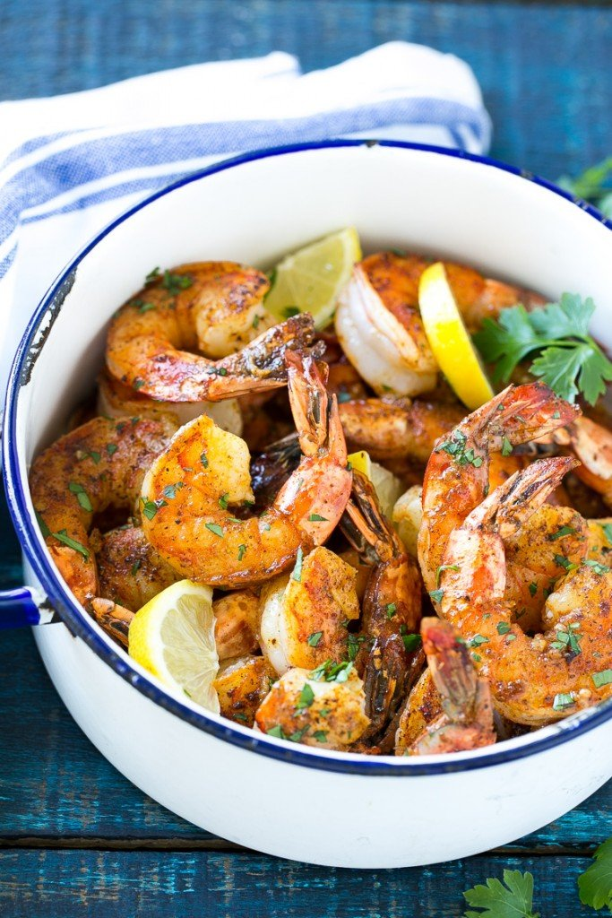 New orleans bbq shrimp dinner at the zoo this recipe for new orleans bbq shrimp is tender and succulent shrimp cooked in a bold forumfinder Image collections