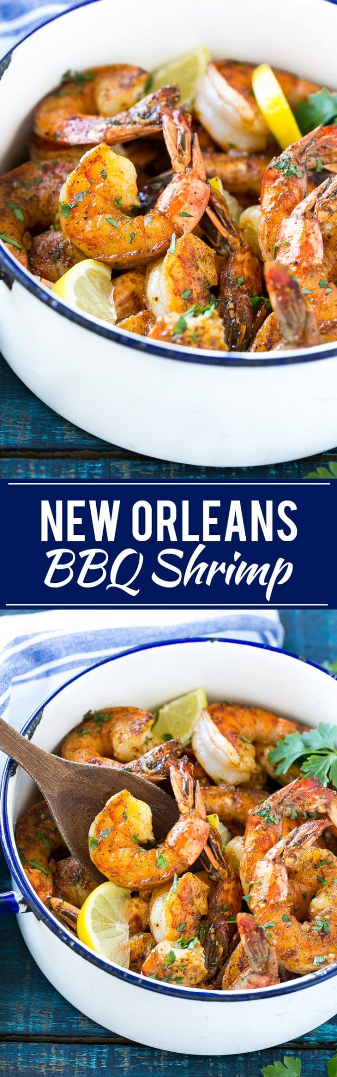 New Orleans BBQ Shrimp Recipe | Easy Shrimp Recipe | New Orleans Shrimp #shrimp #seafood #dinner #appetizer #dinneratthezoo