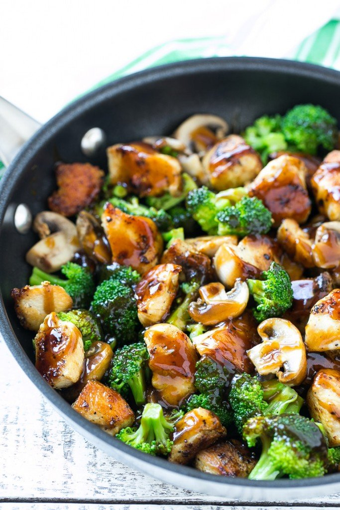 Chicken Broccoli Soy Sauce Stir Fry-7067