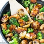 This recipe for chicken and broccoli stir fry is a classic dish of chicken sauteed with fresh broccoli florets and coated in a savory sauce. You can have a healthy and easy dinner on the table in 30 minutes! ad