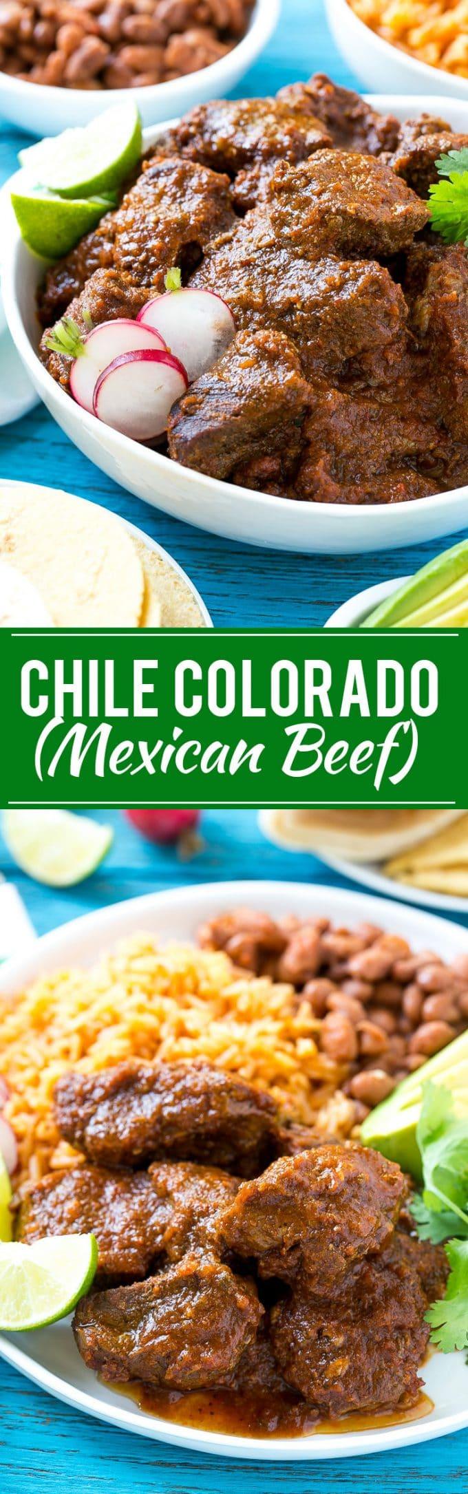 Chile Colorado Recipe | Mexican Beef | Chili Colorado #beef #chilies #mexicanfood #dinner #dinneratthezoo