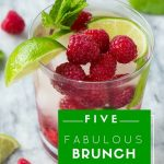 Five fabulous (and easy!) brunch cocktails #Guides4eBay #ad