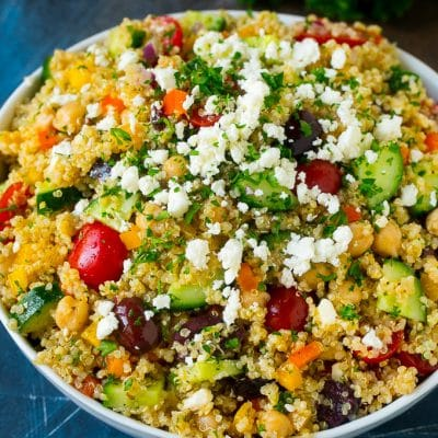 Quinoa Salad with Veggies