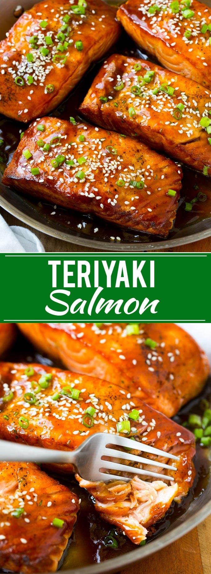 Salmon Teriyaki Recipe | Easy Salmon Recipe | Asian Salmon | Teriyaki Recipe