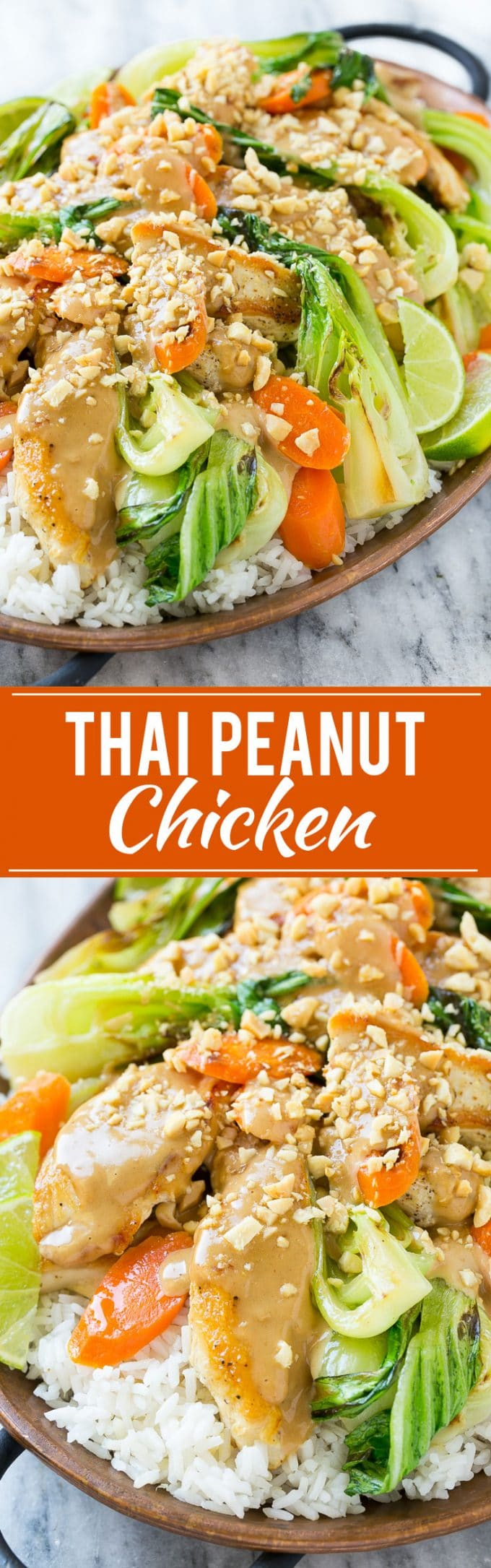 Thai Peanut Chicken | Thai Chicken Recipe | Peanut Sauce Recipe #thaifood #chicken #peanuts #dinner #dinneratthezoo