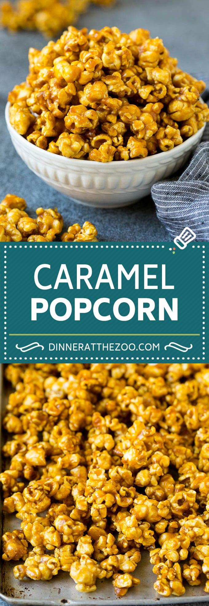 Caramel Popcorn Dinner At The Zoo