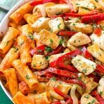 Chicken Riggies (Spicy Chicken Rigatoni)