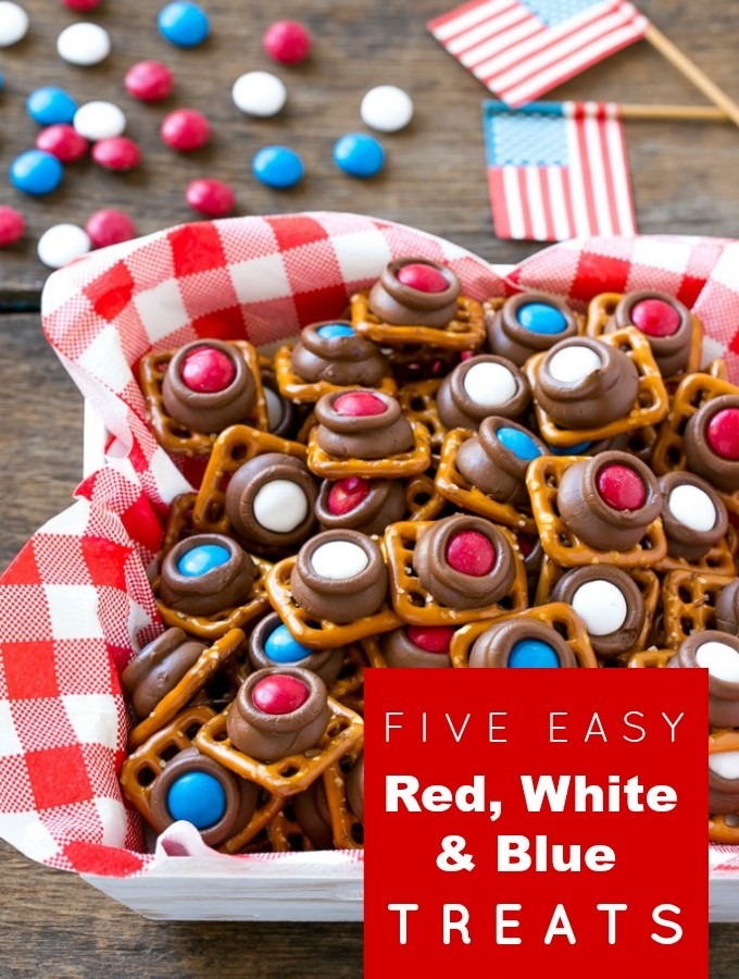 Five easy red, white and blue treats.