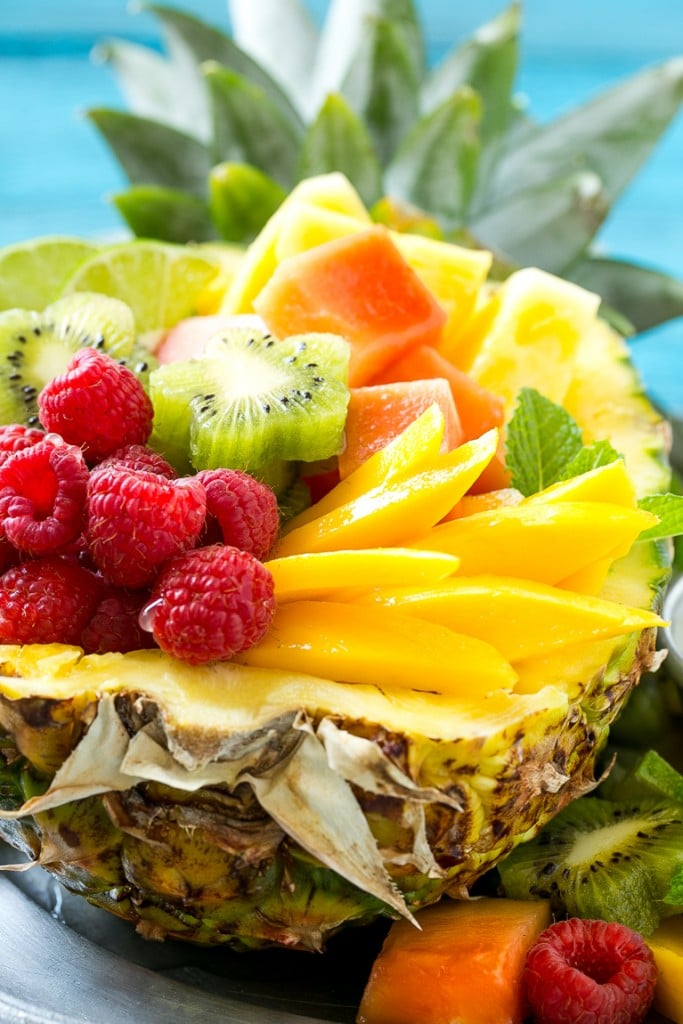 Tropical Fruit Salad Ingredients Related Keywords & Suggestions ...