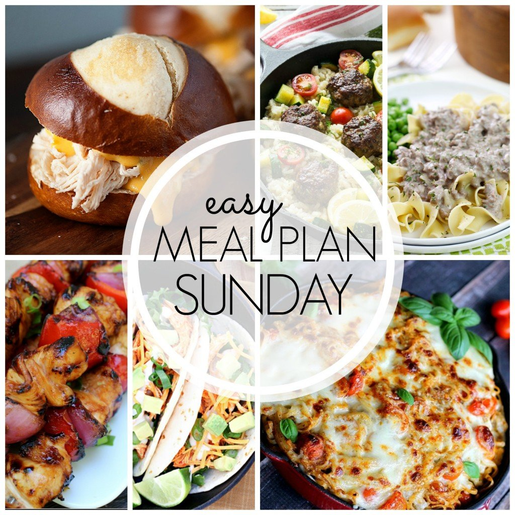 Easy Meal Plan Sunday - Week 53