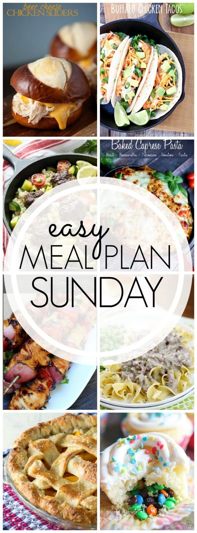 Easy Meal Plan Sunday - Week 53