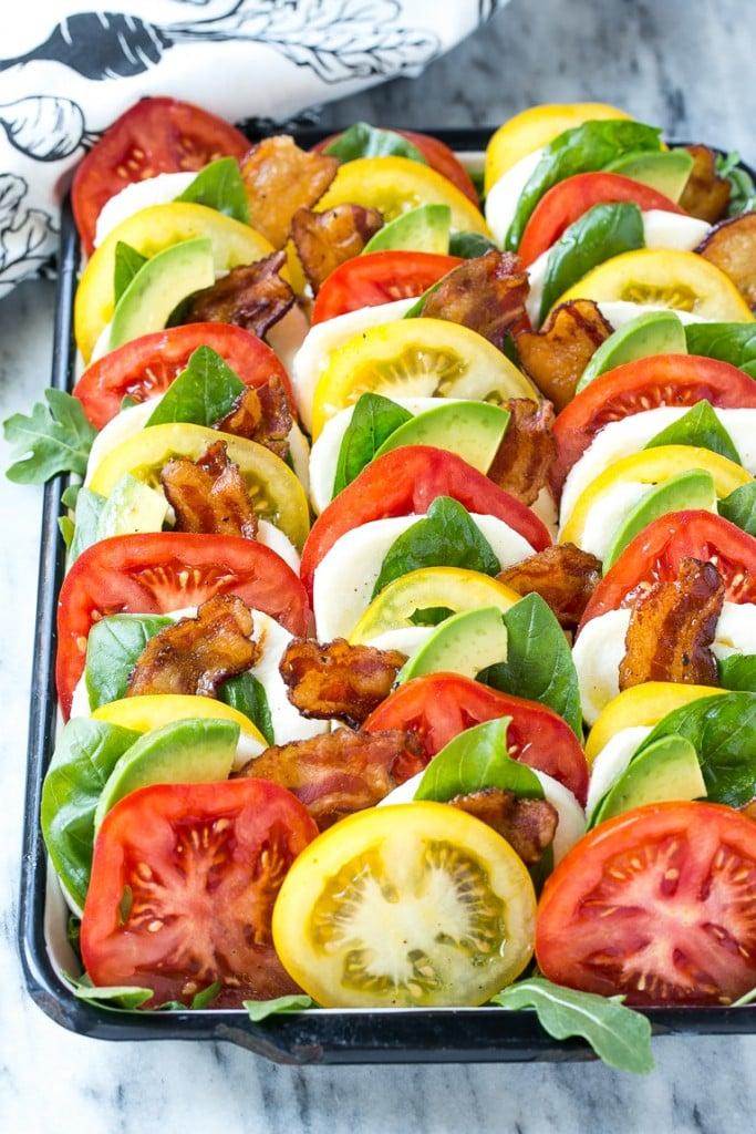 recipe: basil dressing for caprese salad [24]