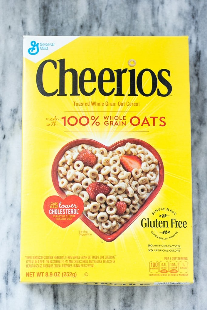 A box of classic Cheerios.