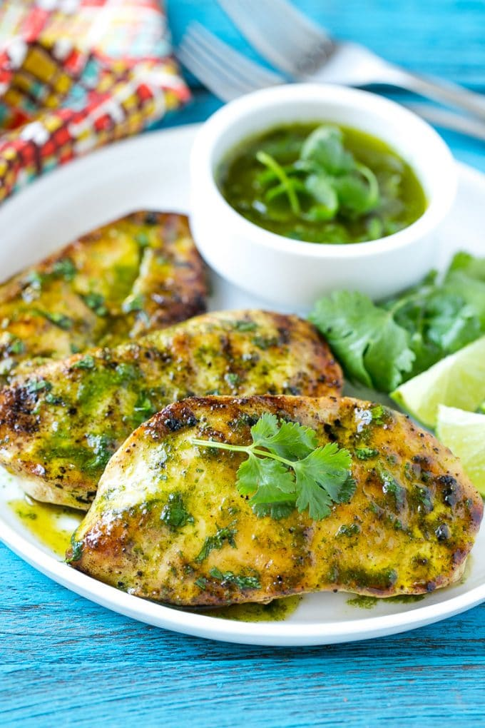 Cilantro Lime Chicken - Dinner at the Zoo
