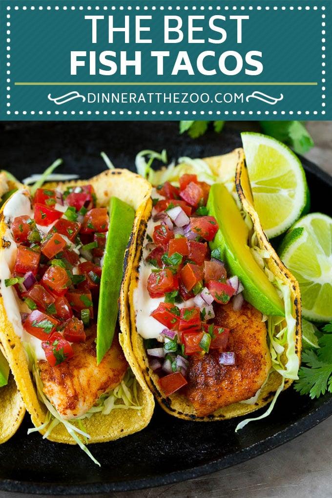 Fish Tacos Recipe | Tilapia Fish Tacos #tacos #fish #tacotuesdady #avocado #dinner #dinneratthezoo