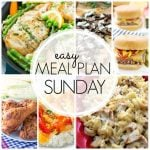 Easy Meal Plan Sunday - Week 54