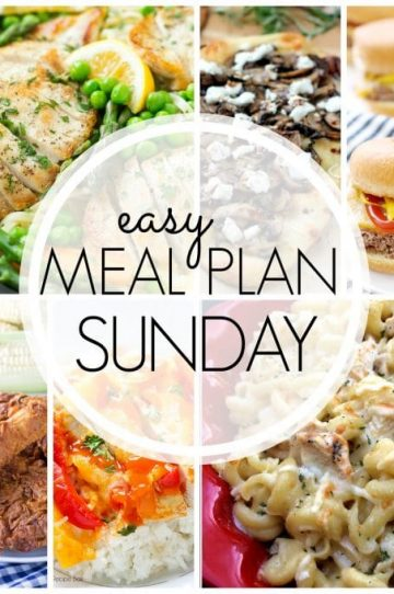 Easy Meal Plan Sunday - Week 54