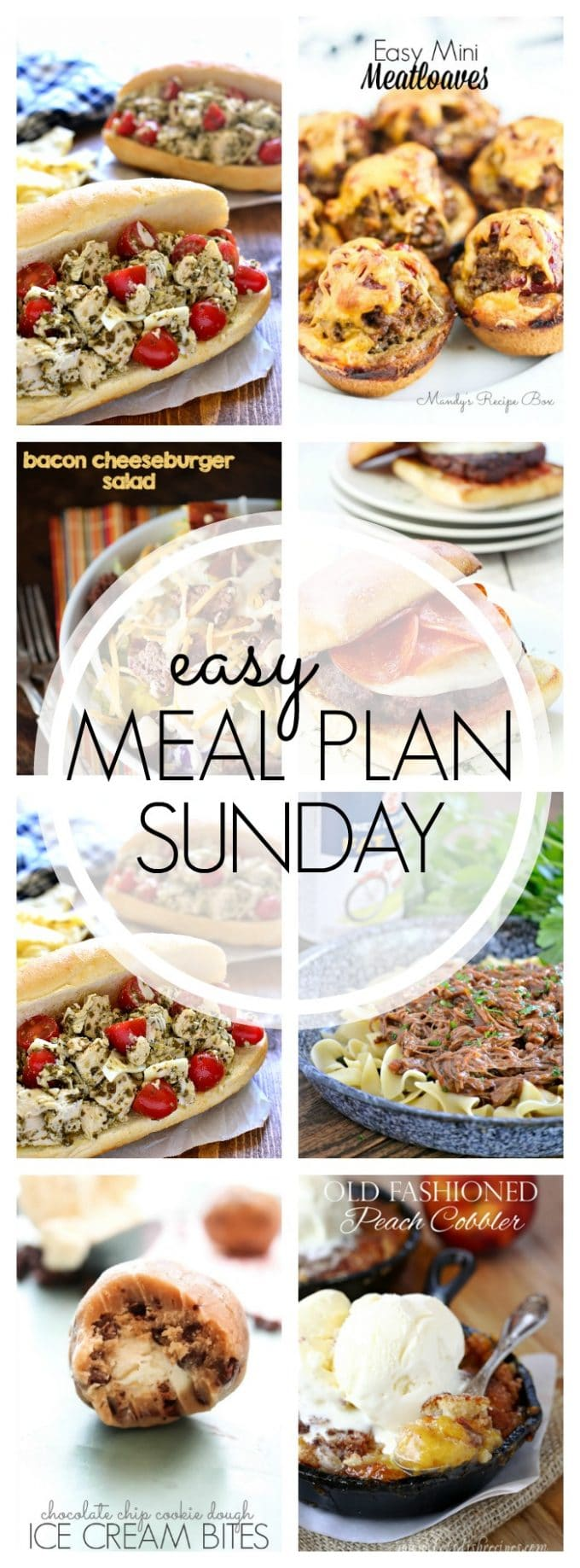 Easy Meal Plan Sunday - Week 57