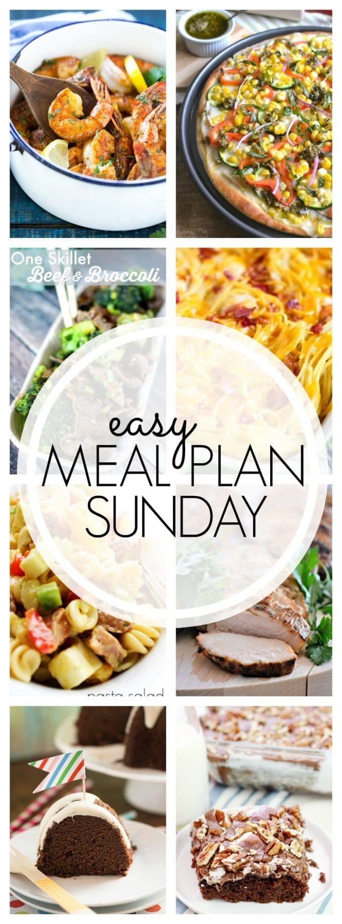Easy Meal Plan Sunday - Week 58