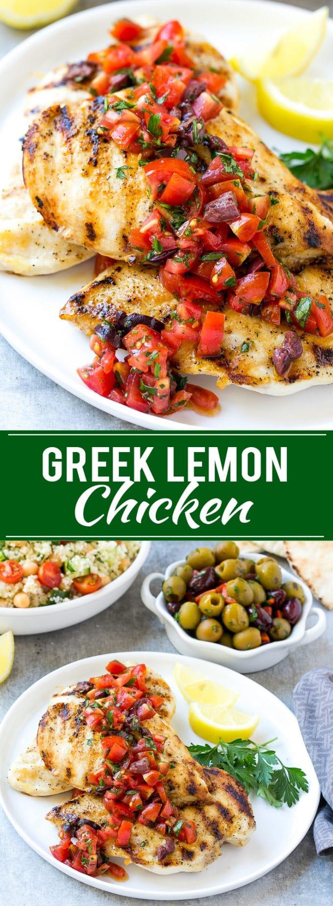 Greek Lemon Chicken Recipe | Lemon Chicken | Greek Chicken | Grilled Chicken | Healthy Chicken Recipe #chicken #greek #grilling #lemon #dinner #dinneratthezoo
