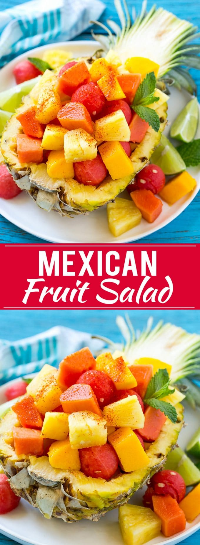 Mexican Fruit Salad Recipe | Fruit Salad | Healthy Fruit Recipe #salad #fruit #fruitsalad #watermelon #pineapple #summer #dinneratthezoo