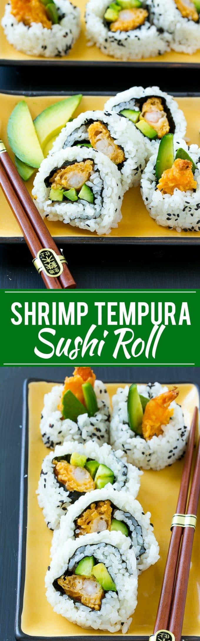 Shrimp Tempura Roll Recipe | Homemade Sushi Recipe | Easy Sushi | Shrimp Tempura | Shrimp Sushi #sushi #tempura #shrimp #dinner #dinneratthezoo