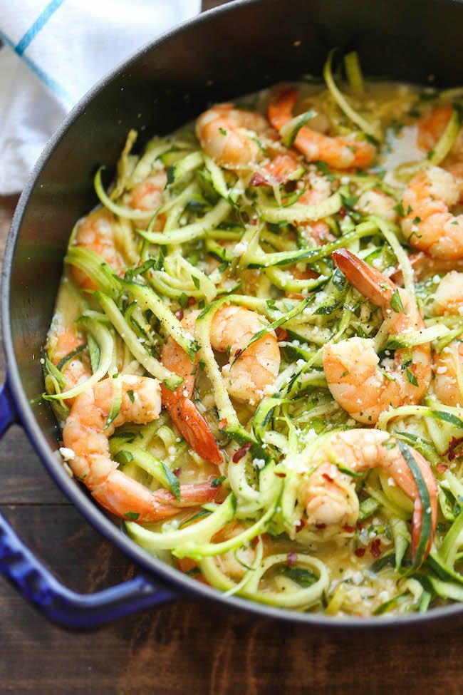 15 easy healthy zoodle zucchini noodle recipes for Zucchini noodles and meatballs recipe