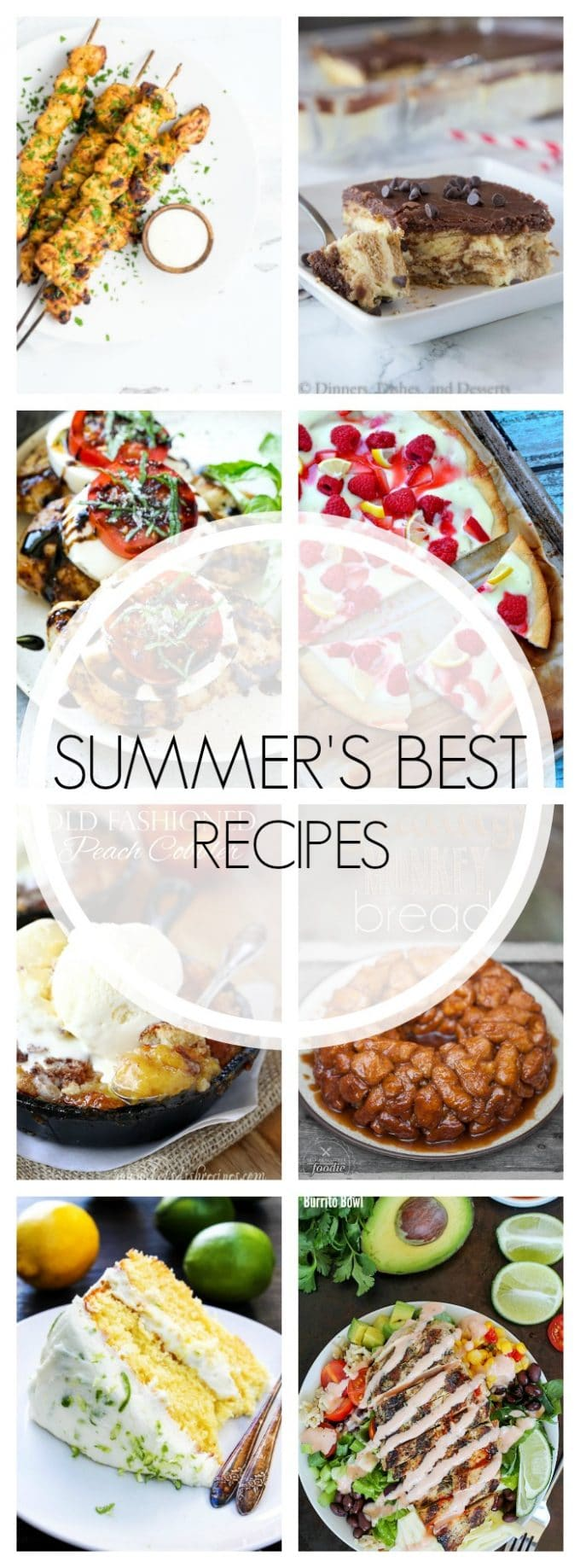 The Best Recipes of the Summer