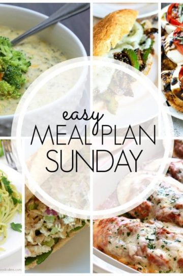 Easy Meal Plan - Week 61